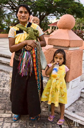 Chiapas people  - Cozumel, Mexico