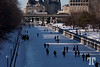 Rideau canal is open for skating  - January