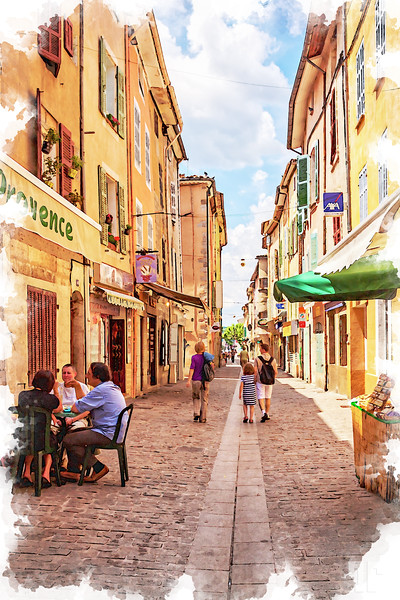 typical-medieval-street-in-provence-tatiana-travelways-aquarelle