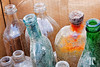 Flea market bottles<br /> <br /> June 12, 2010  (ZZ)