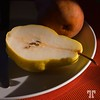 Food and Drink: cut pear, ready to eat (xx)