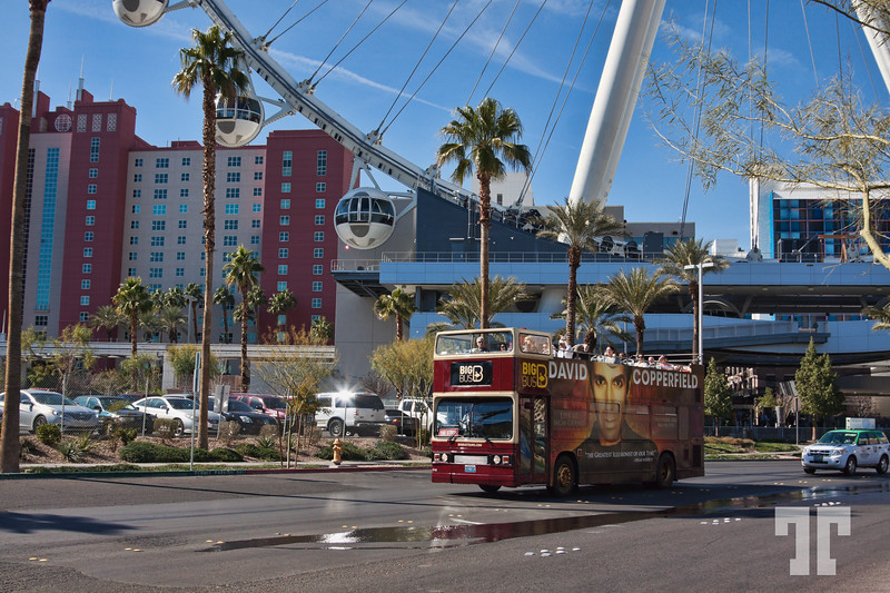 High Roller Las Vegas 101 Exciting Things to do in Las Vegas beside gambling: Big-Bus Las Vegas at the High Roller Wheel