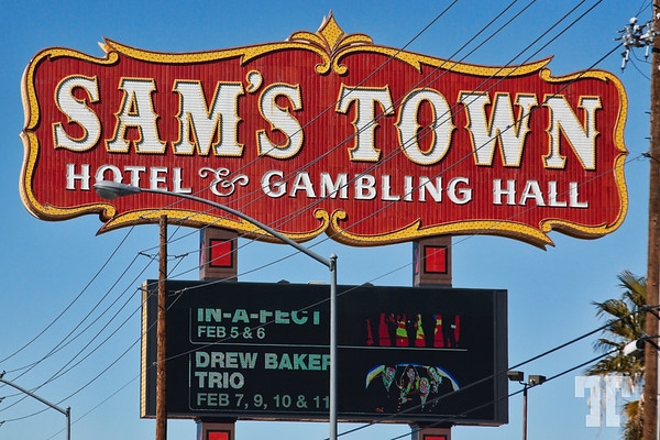 Sam's Town Hotel & Casino Sign, Las Vegas