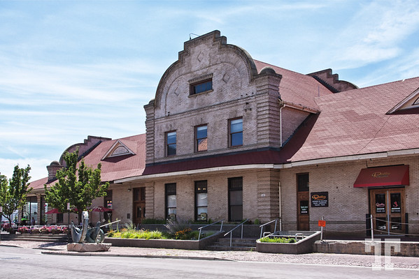 Old train station - Yakima, Washington - historic building (ZZ)