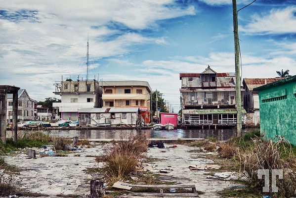Urban exploration in Belize City