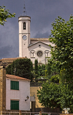 21 June 09<br /> <br /> Light before the rain<br /> <br /> - I took this yesterday in the same village. The rain came later in the evening. Barcelona, Spain