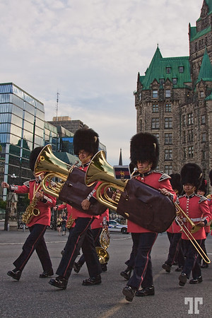 Marching band in Ottawa