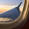 11 Jan. 09<br /> <br /> In flight <br /> <br /> I took this photo in the same day as the previous one:   - January 10th. <br /> We flew to Mexico, because my husband was tired of shoveling snow every day... :) January