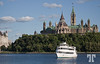 September 1, 09<br /> <br /> Ottawa Canada: view of the Canadian Parliament from across the Ottawa River Ottawa