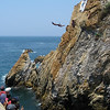 "The famous ""La Quebrada"" - the divers rock"