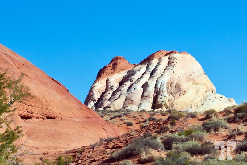 White Domes in the Valley of Fire State Park Nevada, Near Las Vegas