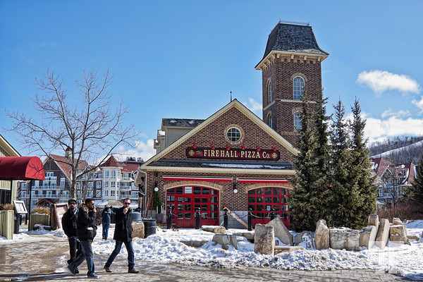 Firehall Pizza :) - Blue Mountain Village, Collingwood, Ontario