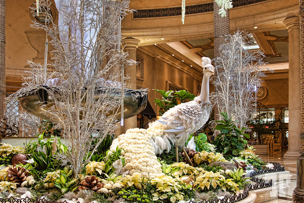 Winter decorations at Palazzo,  Las Vegas  (ZZ)