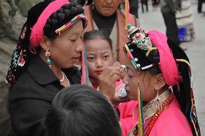 Fengqing Festival, Danba, Sichuan Province