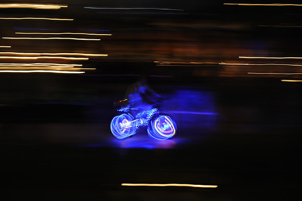 LED bicycle