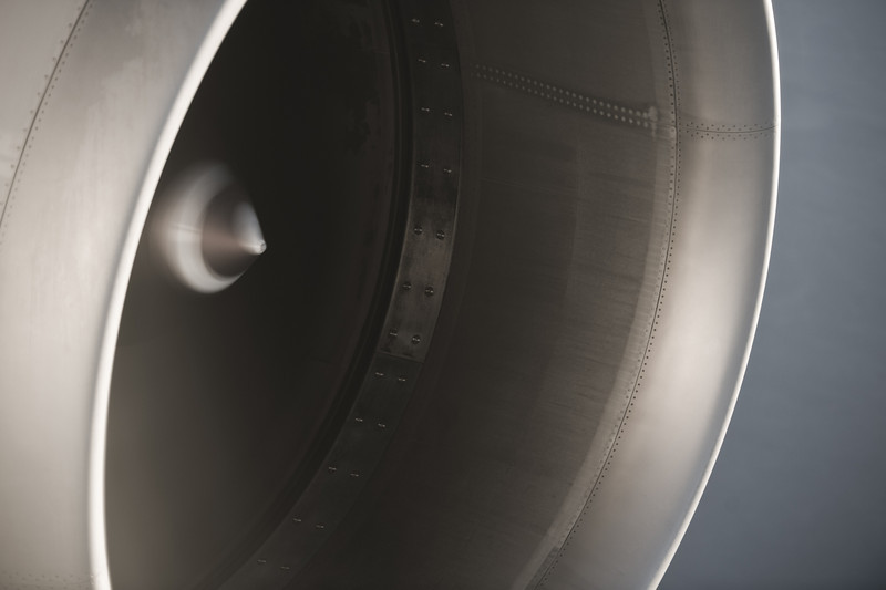 """the largest jet engine in the world (GE90-115B) on Singapore Airlines Boeing 777-300ER en route from London to Singapore nonstop, cruising at 33,000 ft somewhere over the Caspian Sea<br><span style=""""font-size:75%"""">©Yangchen Lin</span>"""