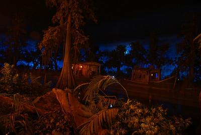 Disneyland Blue Bayou Restaurant in Pirates of the Caribbean in New Orleans Square Disneyland, CA