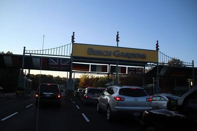 Busch Gardens Willamsburg: 10-19-2012