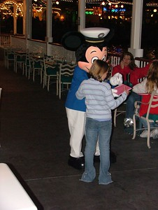 Captain Mickey is now in Charge... along with his Girlfriend Minnie, his dog Pluto and Lilo and Stitch?????