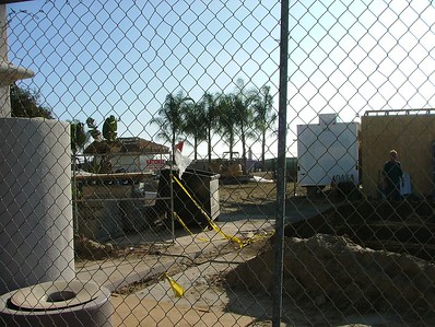 Look, they finally tore down the old buildings at Belmont Park for the new Wavehouse facility.....