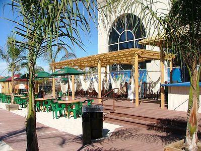 A hammock area