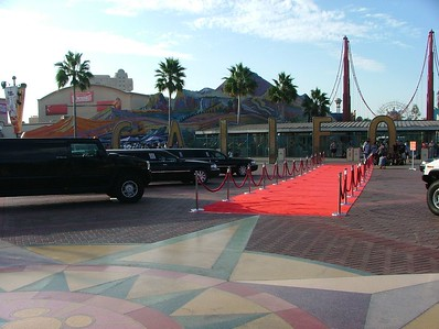 And the Red Carpet for the guests