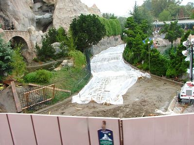 A new Slip and Slide attraction is opening up next to the Matterhorn ;)