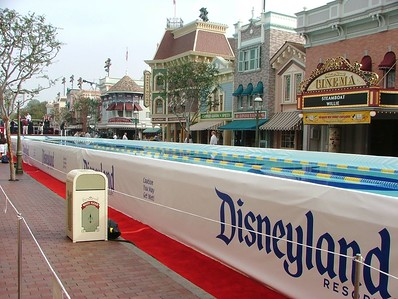 But I did want to let you all look at what Main Street looked like with a pool down the middle of it.