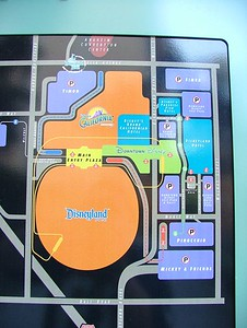 I found this map basically behind the ESPN Zone, along the walkway to the Disneyland Hotel....  Click on the Original size....