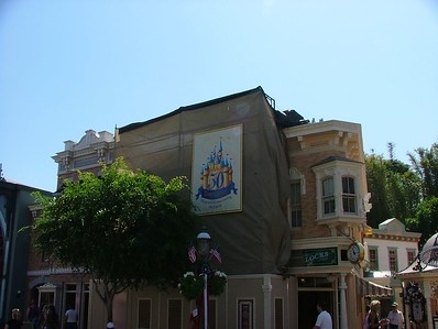 Work continues on the Main Street painting and fix-up