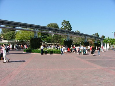 The wait to get into Disneyland