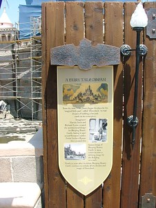New Signage has been placed on the fence blocking off the Castle.....