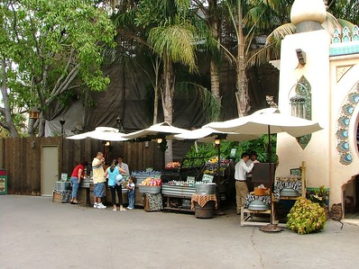 The Fruit cart current location...