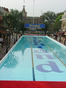 By the way, I have an article on the event, and the building of the pool over at JimHillMedia.com...