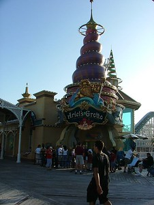 The entrance to Ariel's Grotto