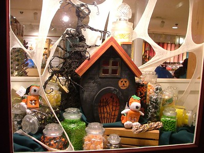 One of the Store windows along California Marketplace