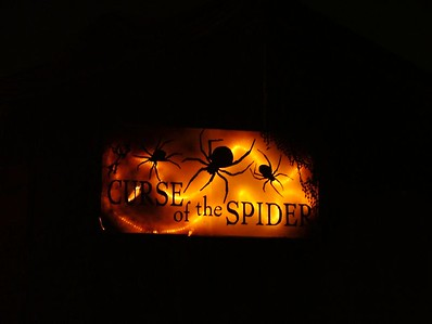 Curse of the Spider is located in the Fiesta Village stage area