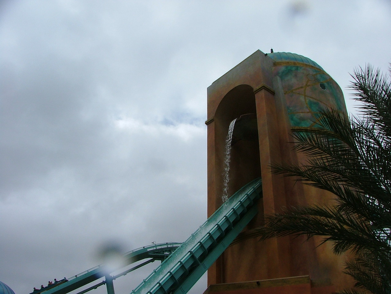 You WILL get wet on this ride!
