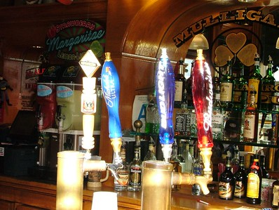 Mulligan's Irish Pub has switched its selections of beer on tap.... Budweiser, Bud Light, Michelob Ultra and Widmer Hefeweinzen on one tap set