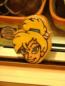 Tinker Bell cookie anyone