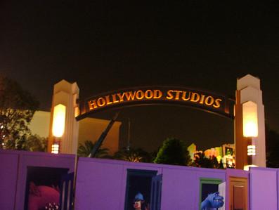 Disneyland Resort (Evening)  - 12/16/05