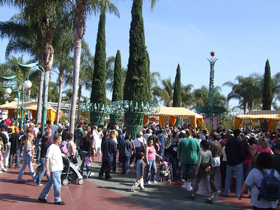 A three day weekend for some folks, the park was busy today