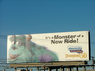 This billboard can be found in the Orange County/Los Angeles area