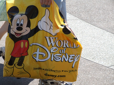 New bags for the World of Disney stores