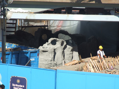 The sculptures have received Stucco