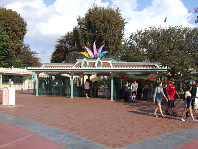 New WDCT flags have been placed on the turnstile gates