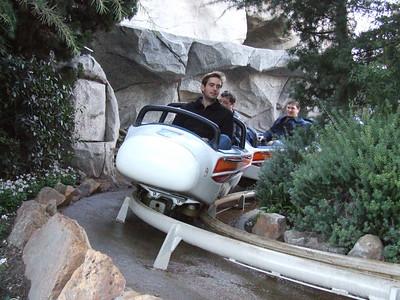 Hey, isn't that guests riding the Matterhorn?