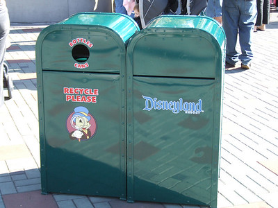 Some of the new logo Trash Cans