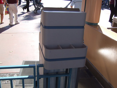 Disney has built a prototype turnstile front for each park (one for DCA, and one for Disneyland).