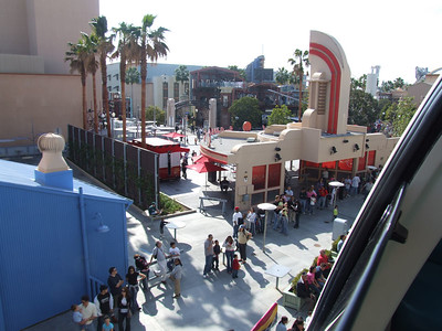 The line for Monsters, Inc. has been long most of the time this weekend.